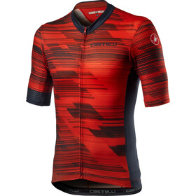 Castelli Rapido Jersey Men, red/savile blue